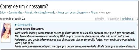 dinossauro louco